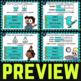 2.3B Math Activity ★  FRACTIONAL PARTS 2nd Grade ★ Math TEK 2.3B Task Cards