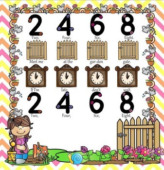 2, 4, 6, 8, - A Counting Rhyme for Presenting Ta &Ti-Ti (PPT Edition)