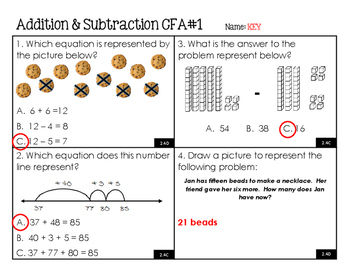 2.4C 2.4D Addition, Subtraction, and Money Checks