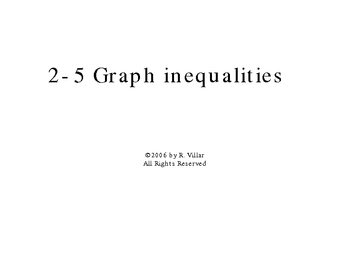 2-5 Graph inequalities in 2 variables