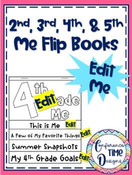 2-5 Me Flip Books (PDFs and Editable)