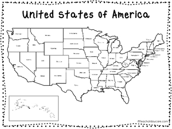 2 50 States Quick Reference and Map Posters. Elementary Geography