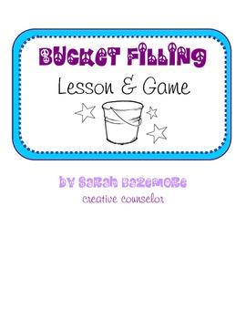 Bucket-Filling Game & Lesson Plan (gr. 2-5)