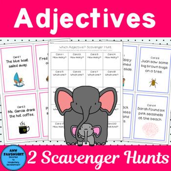 2 Adjective Scavenger Hunts