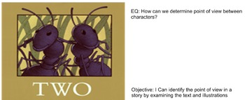 2 Bad Ants Smart board and Exit Slip Activity