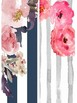 2 Binder Covers and Spine Covers Floral Editable