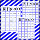 2 Blue (2B) Tricky Words Bingo