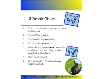 2 Break Cards
