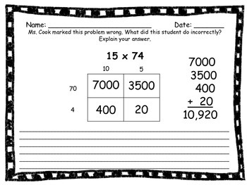 2 By 2 Multiplication-Grid Method