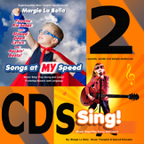 2 CDs Great for Language Development and Singing Sounds, W