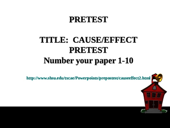 2 Cause and Effect Complete Teacher PowerPoint Lesson