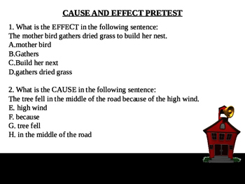 Cause and Effect Complete Teacher PowerPoint Lesson