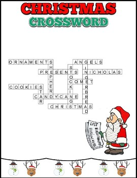 2 Christmas Cross Words