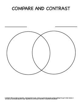 Graphic organizer venn diagram 2 circles wiring diagram portal 2 circle traditional venn diagram graphic organizer by fun to teach rh teacherspayteachers com make your ccuart Gallery