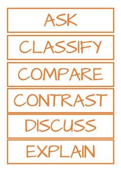 2. Cognitive Verbs - Comprehension