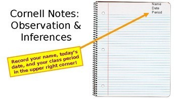 Lecture Notes Observations & Inferences for Marine Science, Bio, Environmental