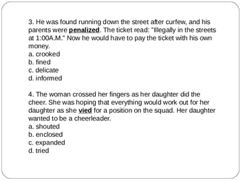 2 Context Clues Lesson With ANSWER KEYS