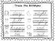 2 Cursive Trace the Antonyms Worksheets. KDG-2nd Grade Handwriting.