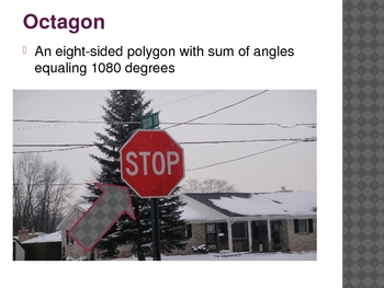 2-D & 3-D Shapes in the Real World Powerpoint