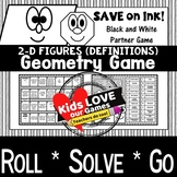 Geometry Game: 2-D Figures Game:  5.G.B.3: 5th Grade Game