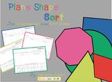2-D Geometric Shape Sorts