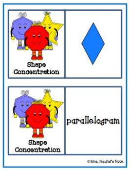 2D Shape Games - Identifying Regular and Irregular Shapes and Properties