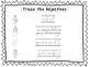 2 D'Nealian Trace the Adjectives Worksheets. Preschool-2nd Grade Handwriting.