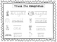 2 D'Nealian Trace the Homophones Worksheets. Preschool-2nd Grade Handwriting.