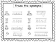 2 D'Nealian Trace the Synonyms Worksheets. Preschool-2nd G