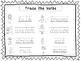 2 D'Nealian Trace the Verbs Worksheets. Preschool-2nd Grade Handwriting.