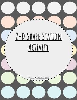 2-D Shape Activity