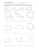 2-D Shape Activity Pages (2.G.1)