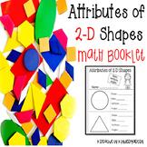 2-D Shape Attributes Booklet