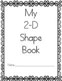 2-D Shape Book