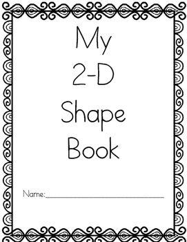 2-D Shape Book