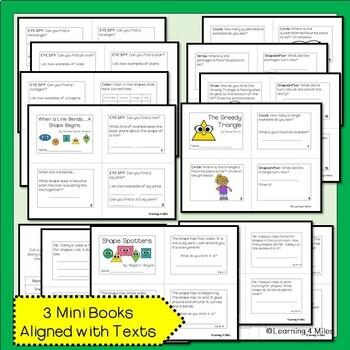 2-D Shape Books & Activities Bundle