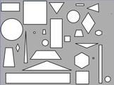 2-D Shape Find Flipchart
