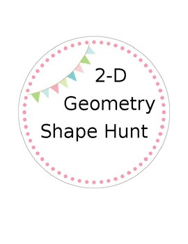 2-D Shape Geometry Hunt