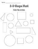 2-D Shape Hunt