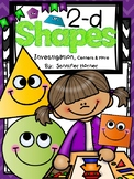 2-D Shape Investigation:  Centers and More
