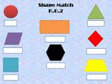 2-D Shape Match K.G.2, 1.G.