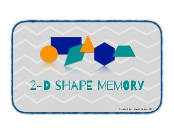 2-D Shape Memory