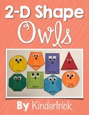 2-D Shape Owls