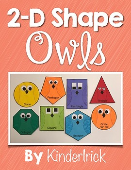 2-D Shape Owls