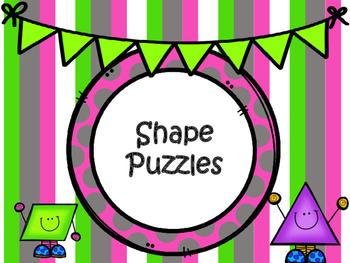 2-D Shape Puzzle