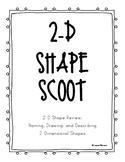 TEKS 1.6B, 1.6C, 1.6D 2-D Shape Scoot