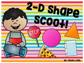2-D Shape Scoot Game