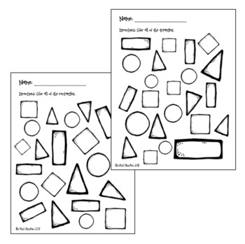 2-D Shape Search