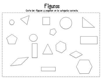2-D Shape Sort