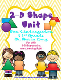 2 - D Shape unit